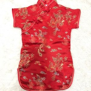 Toddler Girl Chinese New Year Outfit (18-24M)